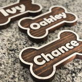 Small Dog Bowl Stand | Dachshund, Boston Terrier, Yorkshire Terrier, Chihuahua, Frenchie | Tiny Dogs