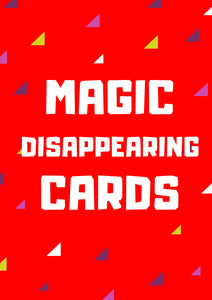 Disappearing Playing Cards