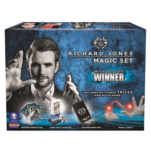 RICHARD JONES SIGNED MAGIC SET - LIMITED EDITION