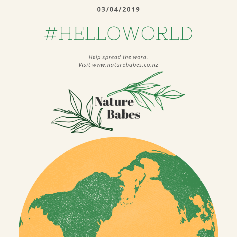 Hello World!! We Are Nature Babes :)