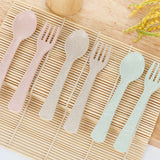 Eco-friendly Wheat Fibre Spoon and Fork Set