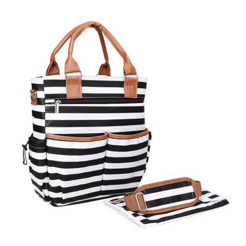 Patterned Tote Nappy Bags