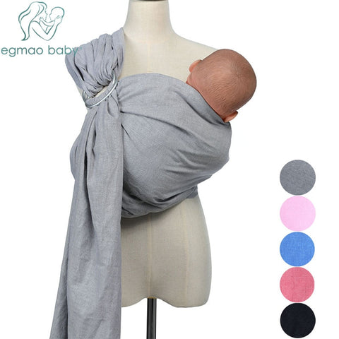 Linen Fabric Baby Ring Sling