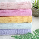 Cotton Crochet Summer Blanket
