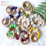 Silicone Baby Teething Ring
