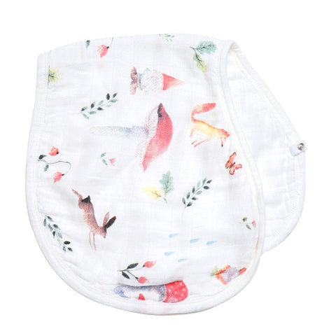 Bamboo/Cotton Burp Cloth and Bib