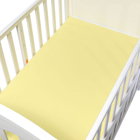130*70cm Fitted Cotton Cot Sheet