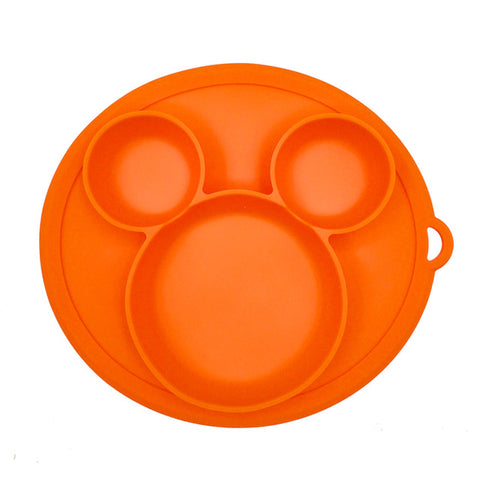 Baby Silicone Plate 3 Compartments