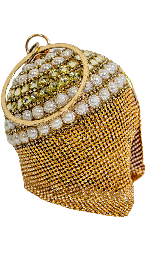 Gold Bridal Clutch - Xarrago