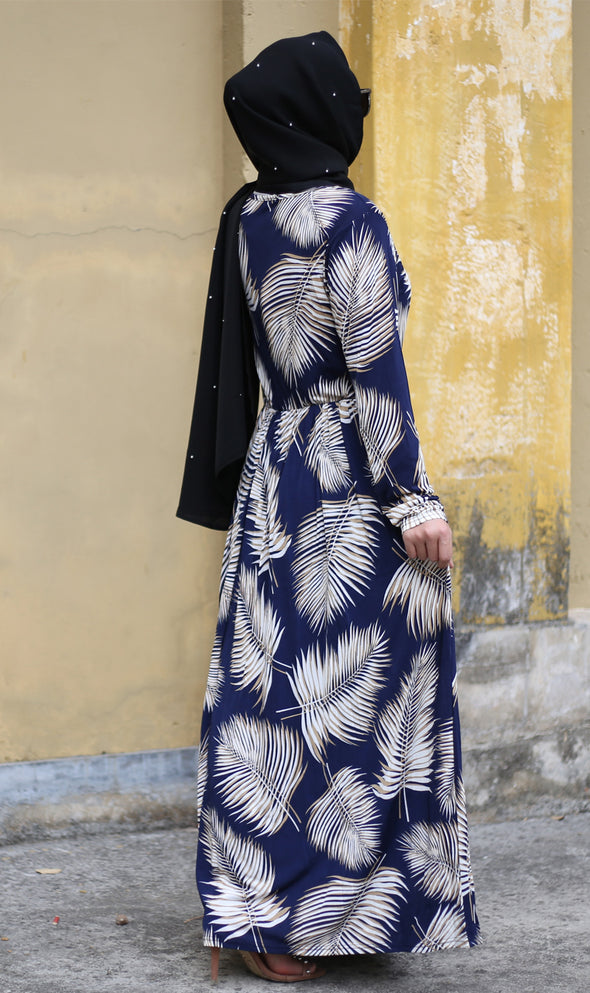 Autumn Modest Dress - Xarrago