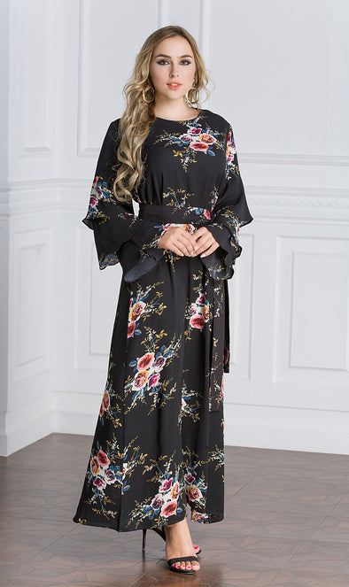 Spring blossom Maxi Dress - Xarrago