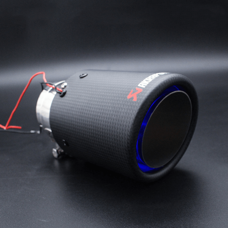 Carbon Fiber LED Exhaust Tip