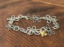 Load image into Gallery viewer, Nature's Summer Sterling Silver Link Bracelet