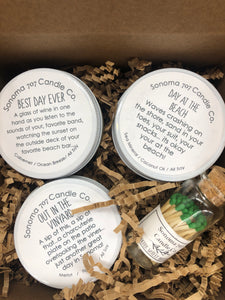 Shelter in Place Candle Sampler Gift Box