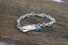 Load image into Gallery viewer, Heart's Sterling Silver Link Bracelet