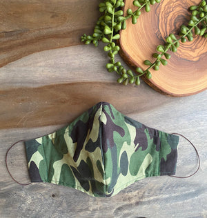 Camouflage Fabric Mask [Series]