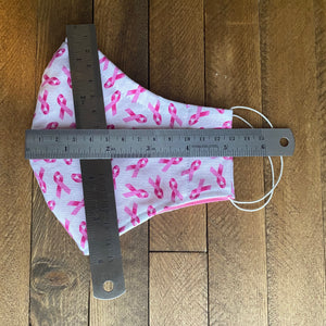 Breast Cancer Awareness Fabric Mask [Series]
