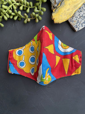 Abstract Pattern Fabric Mask