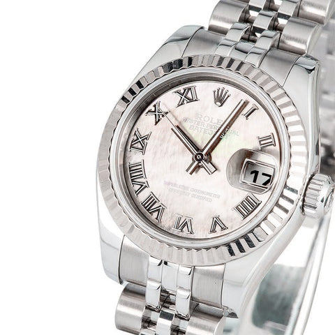 Rolex ladies mother of pearl 179174