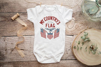 My Country's Flag Bodysuit
