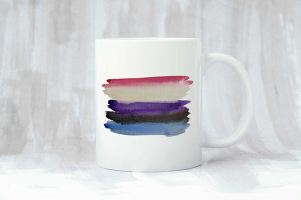 Genderfluid Flag Coffee Mug