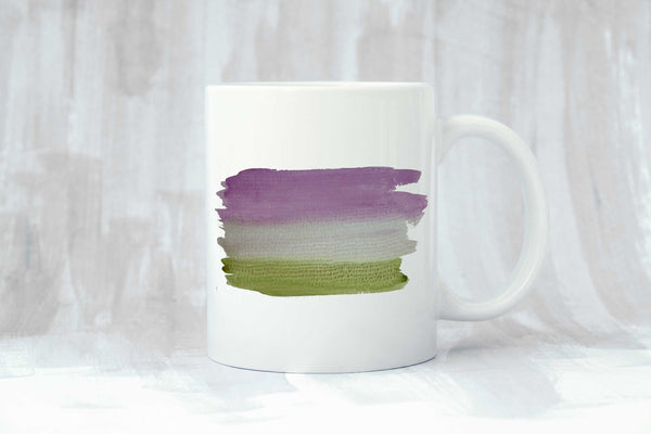 Genderqueer Flag Coffee Mug