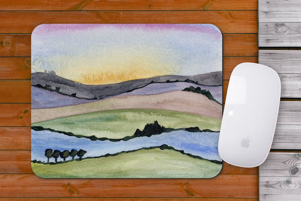 Abstract Landscape Mousepad