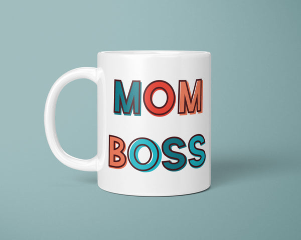 Mom Boss Coffee Mug