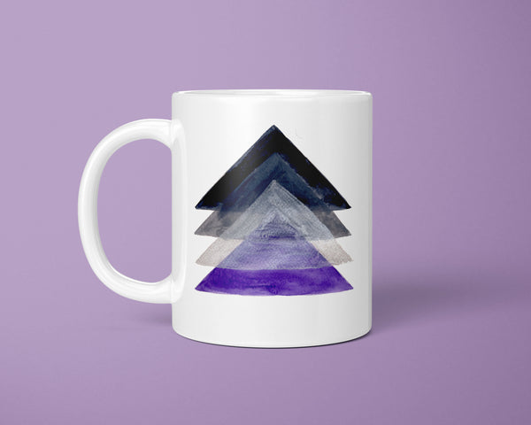 Asexual Flag Coffee Mug