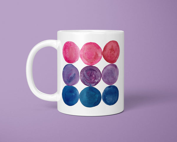 Bisexual Flag Coffee Mug