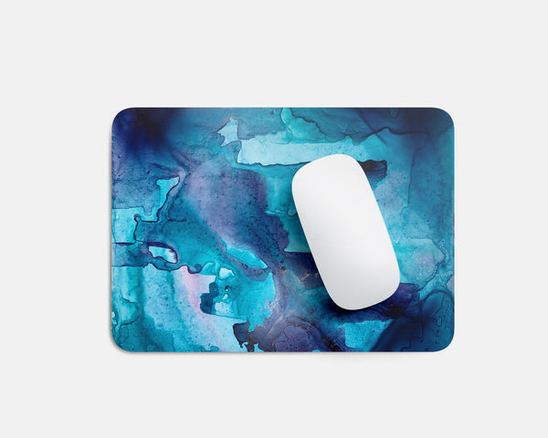 Abstract Blue Mousepad