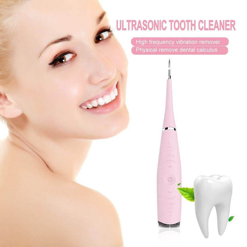 Ultrasonic Dental Cleaner Pink