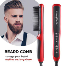 Load image into Gallery viewer, Beard Comb Styler Brush