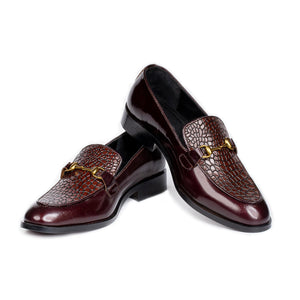 Stingrey Woven Loafer (Brown)