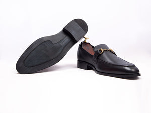 Golden Buckle Loafer