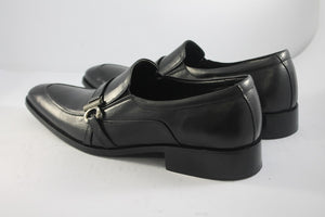 side buckle shoe