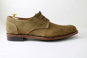 derby suede shoes