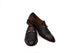 Half Woven Brown Loafer