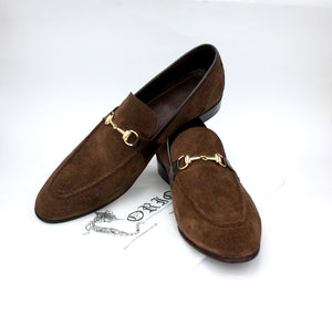 Suede brown Loafers