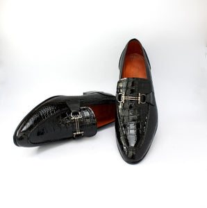 Classic patent leather loafers