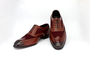 Double Tone Oxford Brogue