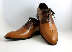 Oxford punch up shoe