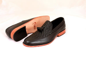 Hand Weaved loafers