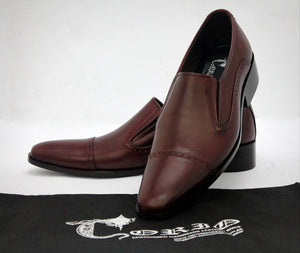 simple dark brown shoe