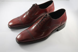 derby shoe dark brown