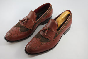 brogue loafers