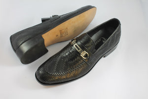 weaved loafers