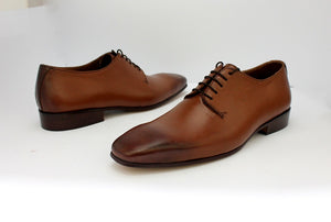 double tone derby shoe
