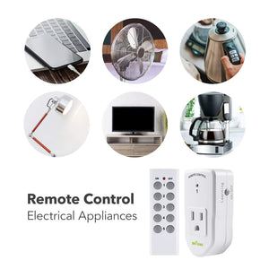 Remote Control Outlet Switches (5 pack)