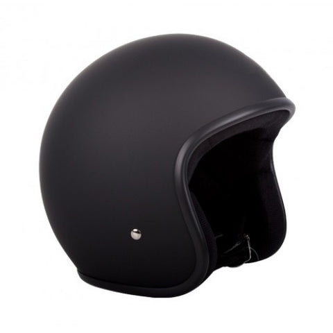 RXT Low Rider Open Face Helmet - Matt Black
